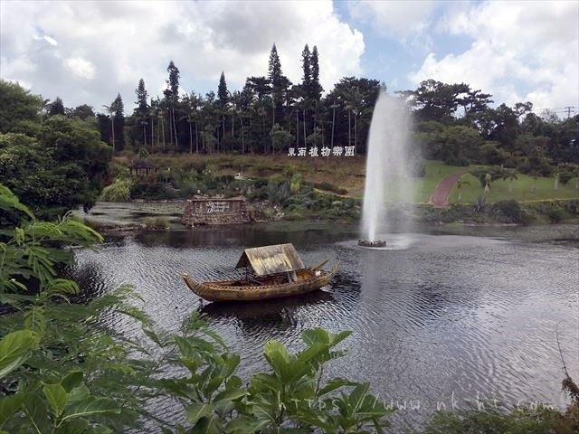 東南植物楽園の噴水