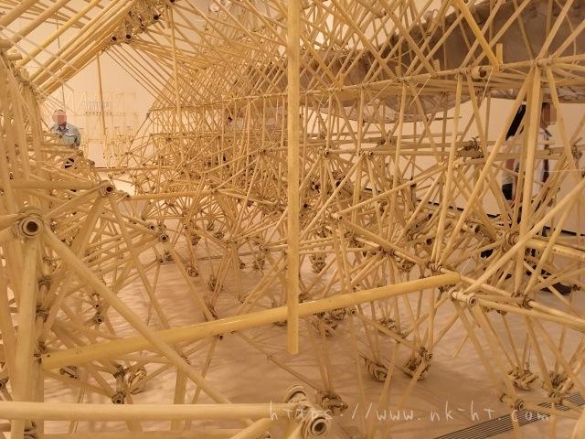 アニマリス・シアメシスの内部構造 テオ・ヤンセン展沖縄2017