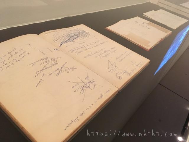 テオ・ヤンセン氏のストランドビーストの構想ノート テオ・ヤンセン展沖縄2017