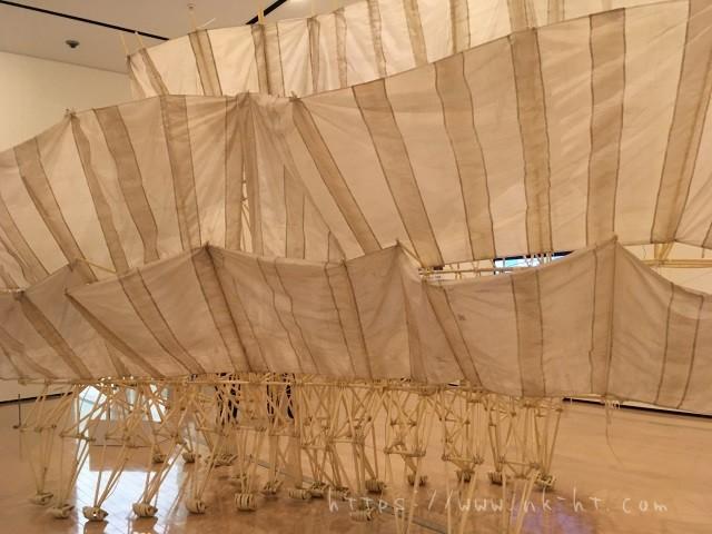 アニマリス・アポディアキュラの背面から テオ・ヤンセン展沖縄2017