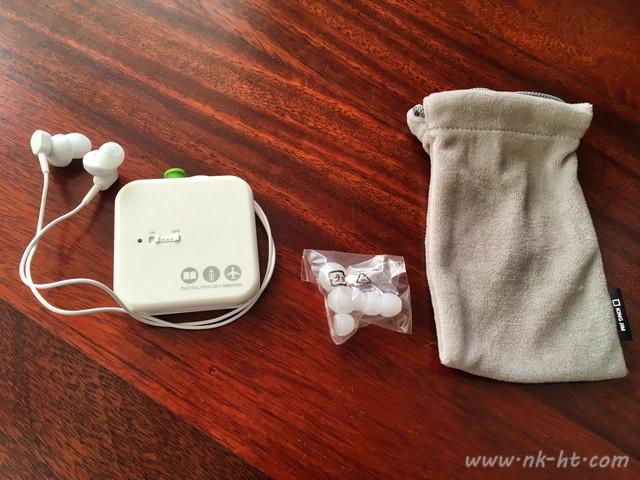 キングジムデジタル耳せんMM1000の内包物