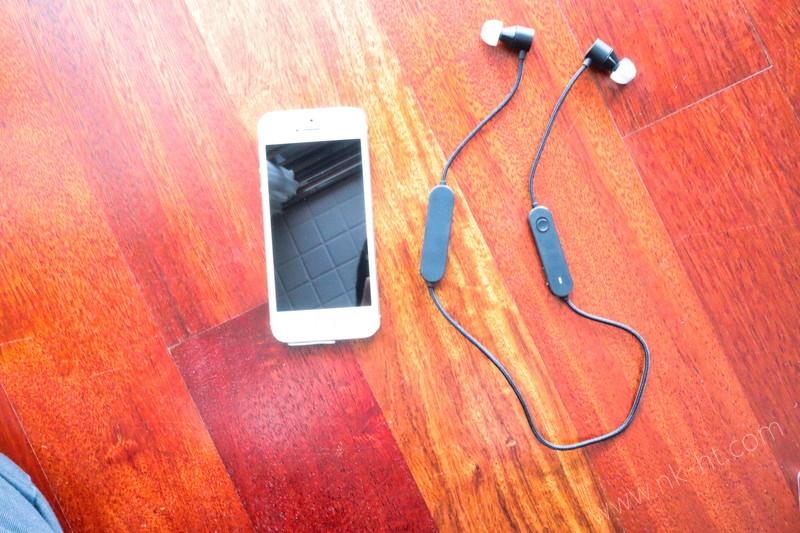 キングジムデジタル耳栓MM2000の本体大きさをiPhoneSEと比べる